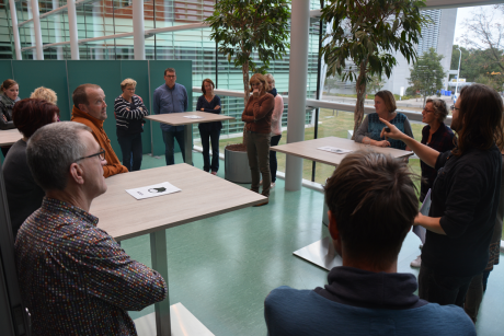 Teachers exchange perspectives on a socio-scientific issue